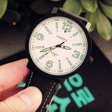 Reloj grande de la dial de la manera de la alta calidad 319 con los punteros de la luz de la noche
