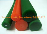 Kraftübertragung-Riemen orange glatter des PU-Polyurethan-runde Riemen-/10mm