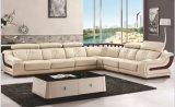 Sofà domestico moderno del cuoio del salone dell'angolo della mobilia (HX-SL042)