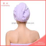 Fabrik Microfiber Haar-trocknendes Schutzkappe Customed Haar-Tuch