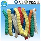 Nichtgewebte einzelne elastische Pöbel-Wegwerfschutzkappe