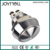 Alto interruptor de pulsador redondo eléctrico IP67 12mm~25m m