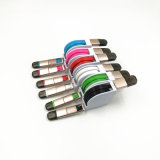 다채로운 TPE Marerial USB3.1는 비용을 부과 케이블 단식한다