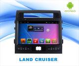 Lettore DVD Android dell'automobile del sistema per l'incrociatore dello sbarco schermo di tocco di 10.1 pollici con GPS/WiFi/Bluetooth