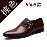 2017의 새로운 남자의 정장 가죽 신발을 도매로 판매하는 제조자