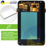 タッチ画面の計数化装置アセンブリとのSamsung J7 LCDのための完全なLCDスクリーンを完了しなさい