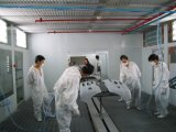 Ручной завод покрытия брызга для частей автомобиля