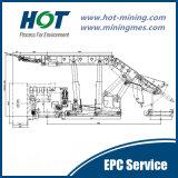 長壁法の上の石炭のケービングの (LTCC)採鉱技術