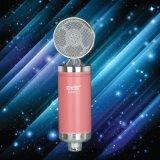 Microfone original do computador do Mic do condensador de Champagne