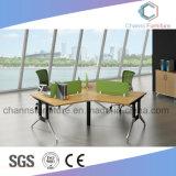 Het elegante Werkstation van de Manager van de Melamine van het Kantoormeubilair van het Ontwerp