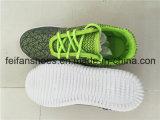 OEMはからかう低価格(FFZL1031-03)のキャンバスの注入の靴を