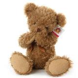 수줍어한 아기 견면 벨벳 장난감 곰 장난감은 장난감 곰을 합동했다