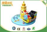 Tren redondo del castillo de la máquina de juego del paseo del Kiddie para la venta