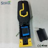 Nuova torcia della stretta LED della mano per la riparazione dell'automobile che funziona base magnetica