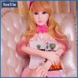 Realistisch 140cm Blond Doll van het Geslacht van de Vagina van het Speelgoed van het Silicone