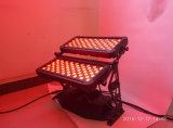 120X10W RGBWA UV6 in 1 Stadt-Farben-Wand-Unterlegscheibe