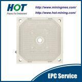 Plaque de pression automatique à haute pression de filtre hydraulique