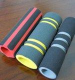 Tube d'éponge de mousse coloré par OEM en caoutchouc de silicones