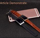 スマートな腕時計は気高い黒に電話をかける
