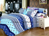 Padrão de flor colorido Microfibra de bambu Conjunto de lençóis baratos Conjunto de roupa de cama Têxtil doméstico
