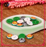 Bunte runde Tasten-Süßigkeit-Hemd-Tasten-Ober-Taste