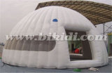 Раздувной шатер купола пузыря, белый шатер K5072 купола партии