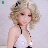 Billig 135cm volle Silikon-reizvolle Mädchen-Liebes-Puppe-lebensechte reale Geschlechts-Puppe für Männer