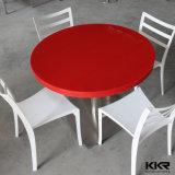 Table ronde en surface solide en pierre ronde haut de gamme