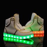 Sapatos LED com aplicação para inverno