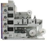 Impresora barata de Flexo del precio con 3 estaciones que cortan con tintas