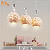 Lampada Pendant di ceramica del reticolo moderno del LED con la lampadina E27