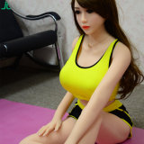 Jouet sexy de poupée adulte avec les poupées réelles de sexe de silicones solides réalistes squelettiques pour les hommes