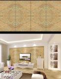 Le marbre gris a poli le plancher de tuiles glacé par porcelaine de 600X600mm