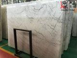 Слябы Guangxi китайского начала белые мраморный белые мраморный для плакирования Countertop/настила/стены