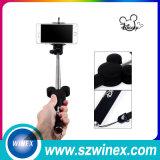 Palillo integrado sin hilos de Selfie de la cámara del teléfono móvil de la alta calidad