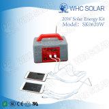 Haus und im Freien Solar Energy Installationssatz des Gebrauch-20W mit Sonnenkollektor