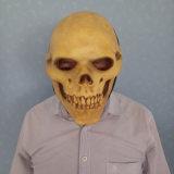 Маска латекса каркасного людского черепа Halloween трудная