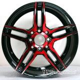 Los CB 73.1 calientes vendiendo 8 orificios ennegrecen los bordes de la rueda para el coche