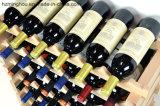 Fabrik-umreiß passen festes Holz-stapelbare Wein-Zahnstange für das Anzeigen an