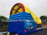 Opblaasbare Overzees Funcity/Opblaasbare Speelplaats Custmoized met Dekking/Opblaasbare Spelen
