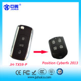 433.92MHz / 315MHz Ask Modulation Car Alarm System Remote Control