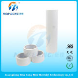 Película protectora del PVC del color blanco como la leche para las placas de cristal