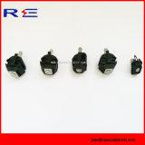 Produtos Piercing isolados da série dos conetores 1kv