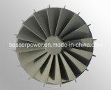 Bâti de turbine de soupape d'acier allié et d'acier du carbone