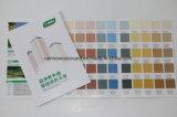 Libro de papel de la tarjeta del color de la pintura de la pared de la impresión