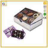 Doos van de Chocolade van de Doos van de Gift van de Verpakking van het Huwelijk van de luxe de Buitensporige Hart Gevormde