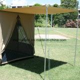 Tenda laterale piegata prova dell'acqua