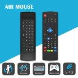 La fábrica TV utilizó el ratón sin hilos de la mosca del aire del teclado de Mx3 2.4G teledirigido
