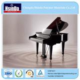Capa negra arriba brillante del polvo del efecto del espejo del precio de fábrica para el piano
