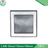 LEDの細いキャビネットライト(DC12V。 1.5W)